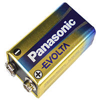Батарейка щелочная крона (6LR61) Panasonic Evolta 9V