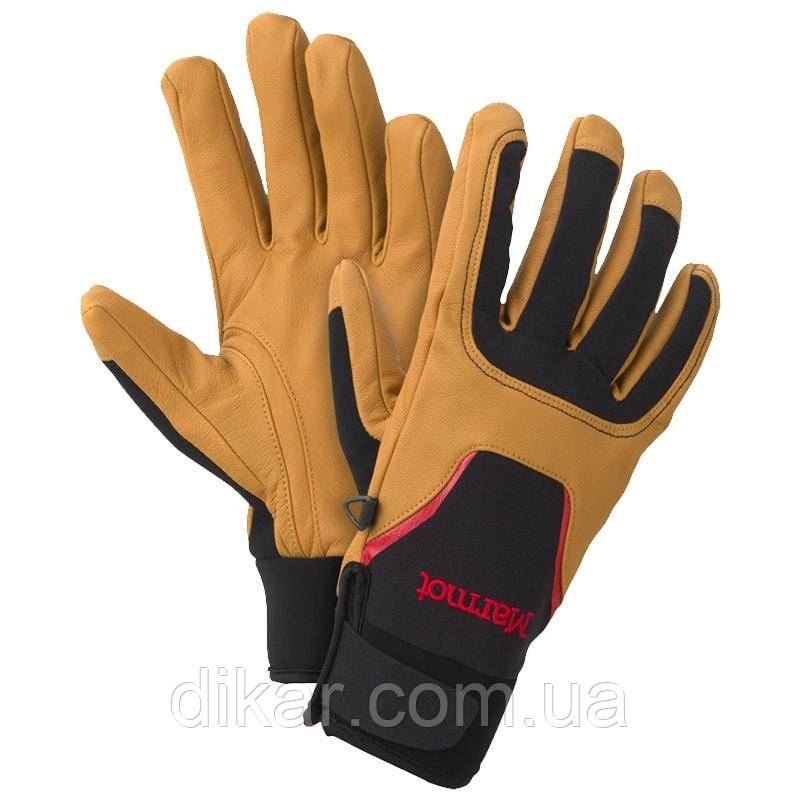 Перчатки MARMOT Spring Glove (p.S), black-tan