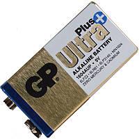 Лужна Батарейка, Alkaline КРОНА Ultra + (6LF22, 6LR61, 6LP3146, MN1604) GP 9V