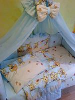 Красивая постель для мальчика ТМ«ASIK» ( 8 элементов) №103