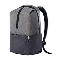 """Городской рюкзак для ноутбука Wasco """"OM1"""" Серый-Графит"""