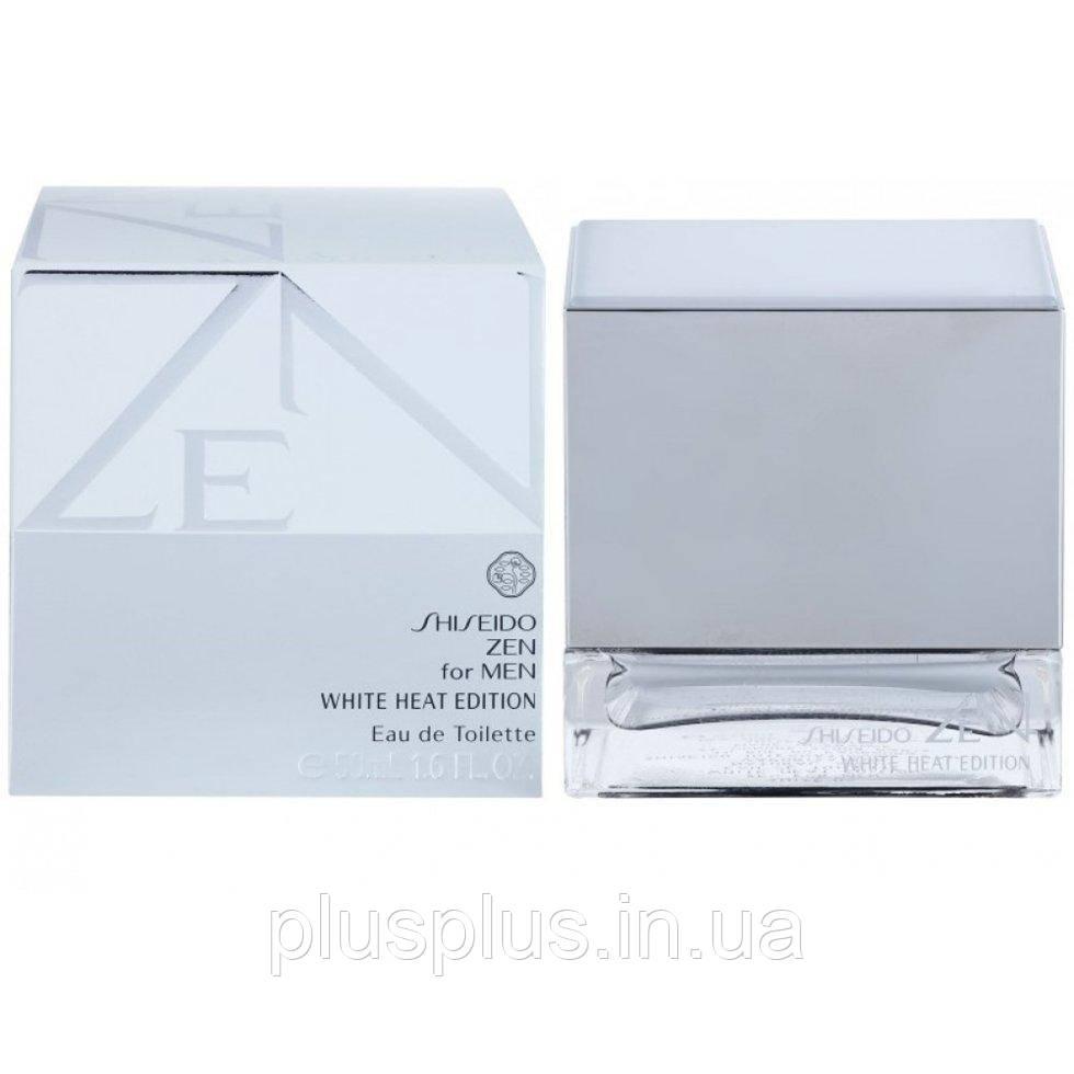 Туалетная вода Shiseido Zen For Men White Heat Edition для мужчин  - edt 50 ml