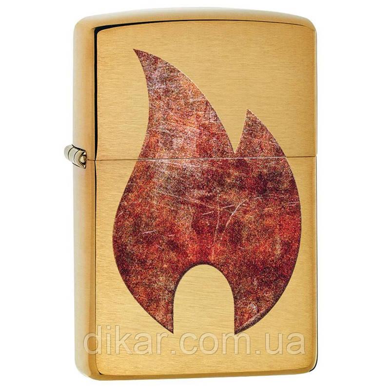 Зажигалка Zippo Rusty Flame Design, 29878