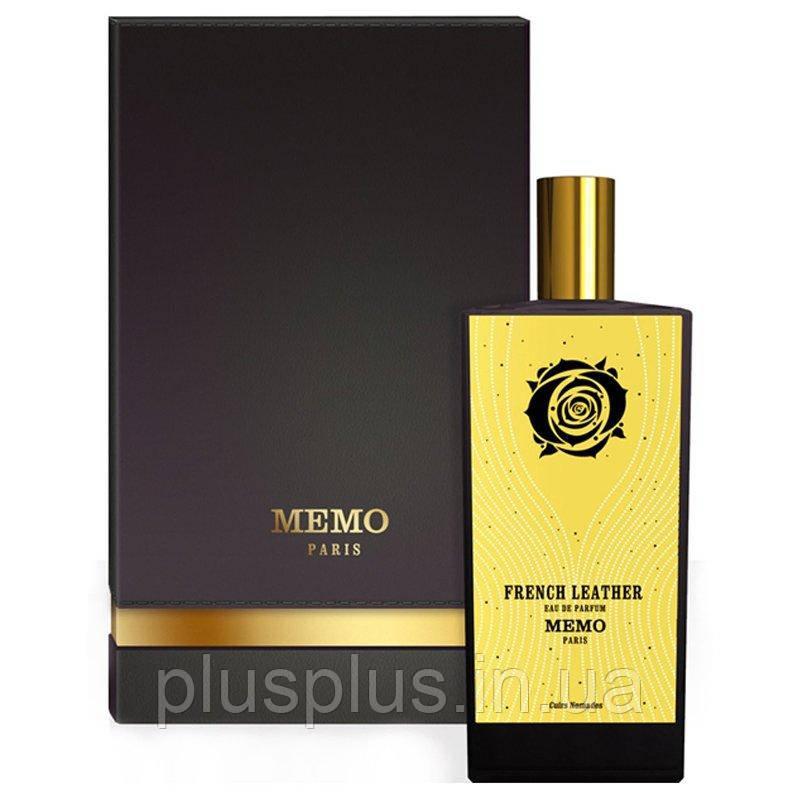 Memo French Leather (тестер LUXURY Orig.Pack!) edp 75ml