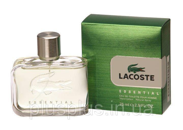 Туалетная вода Lacoste Essential для мужчин  - edt 75 ml
