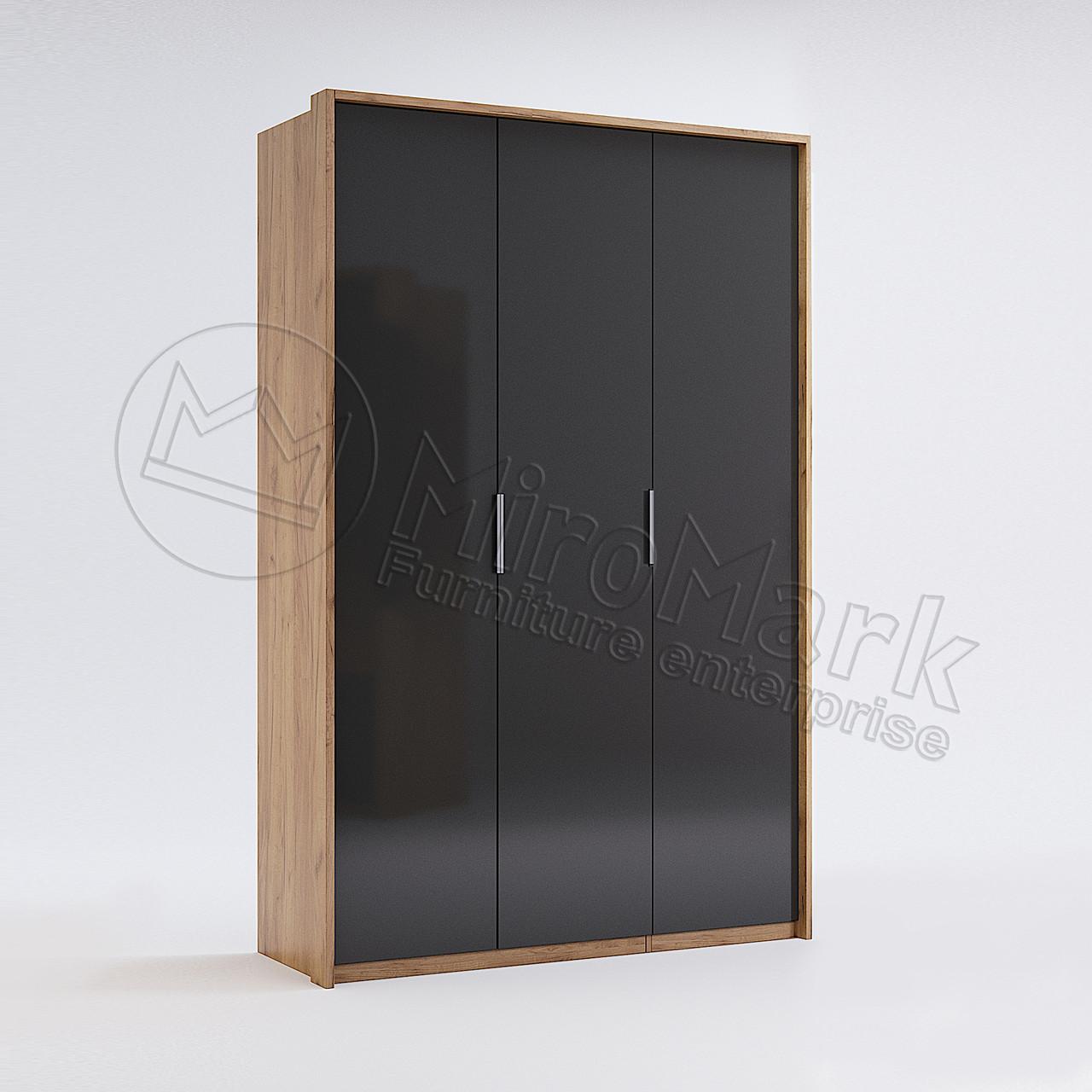 Шкаф 3дв Луна без зеркал TM Миро-Марк