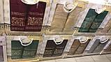 Набор люксовых махровых полотенец  1 банное  1 лицевое  в подарочной упаковке Турция, фото 3