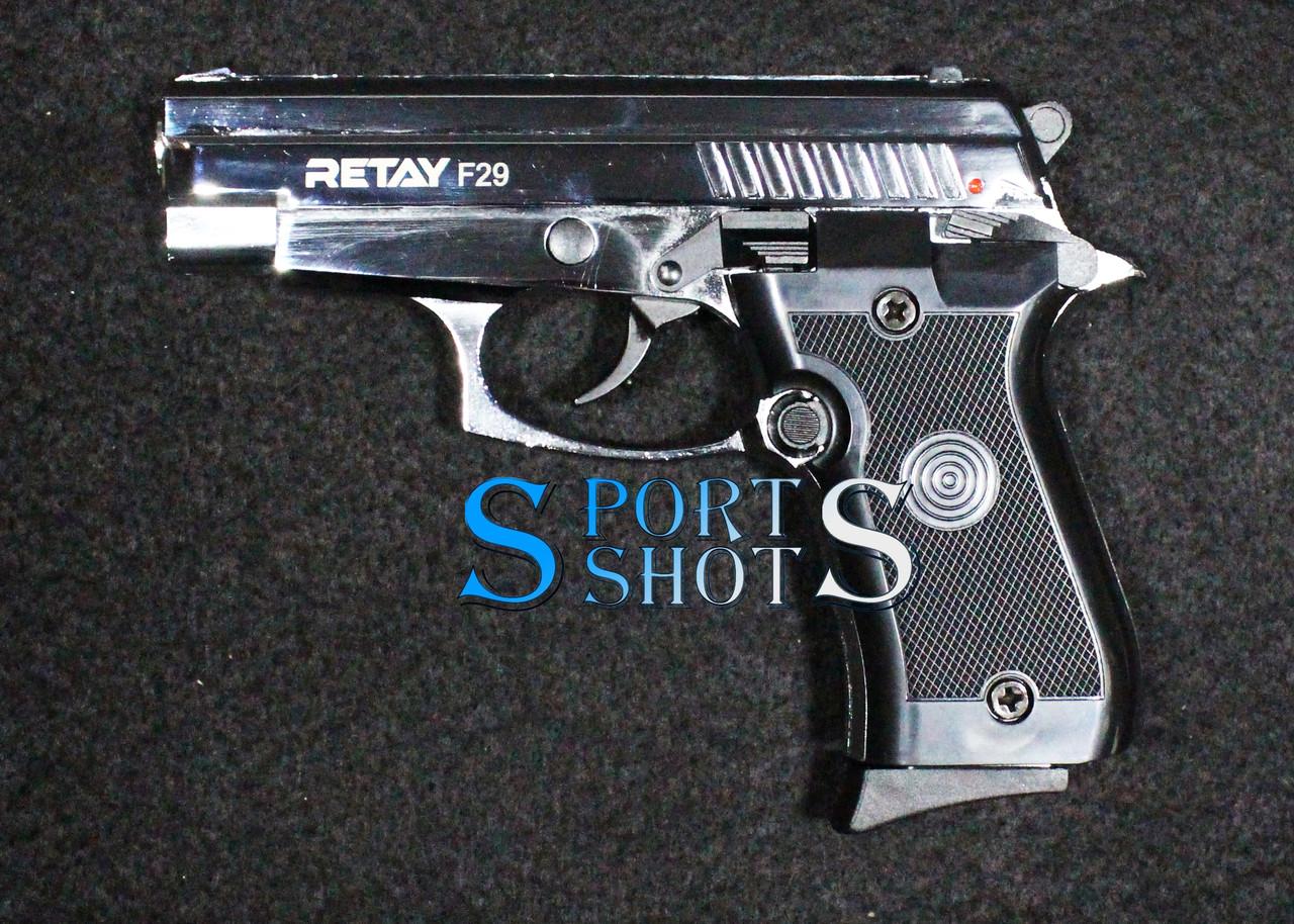Стартовий пістолет Retay F29 chrome
