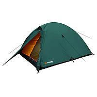 Палатка туристическая 4-местная Trimm Hudson (3100x2050x1250мм), оливковая, фото 1