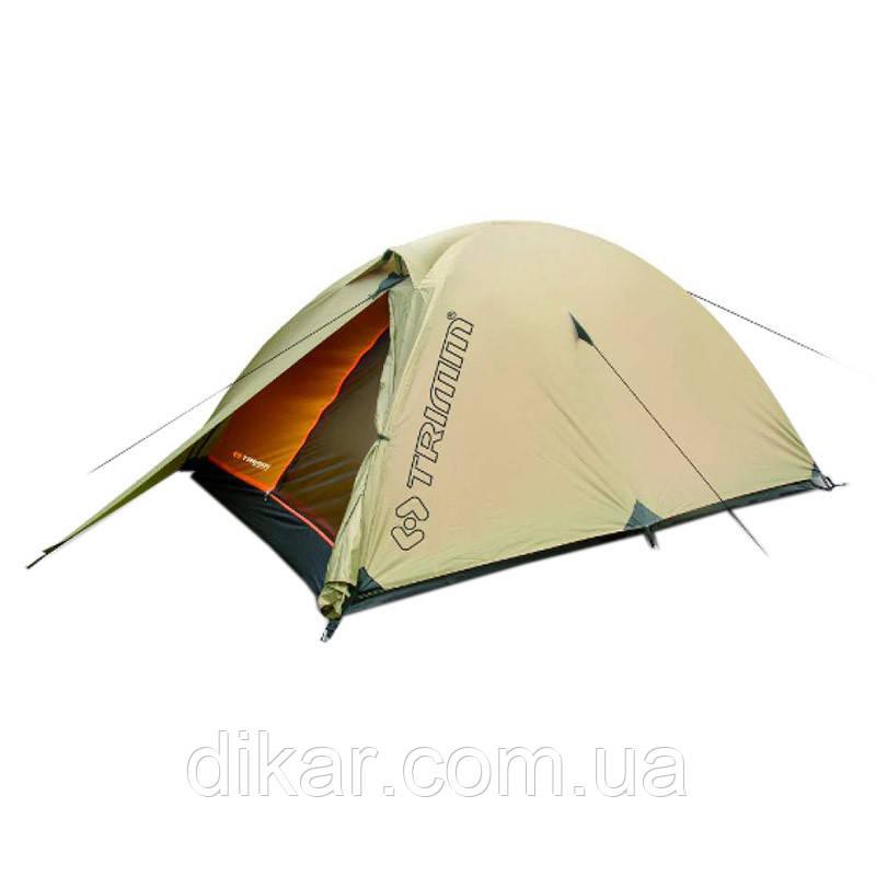 Палатка туристическая 3-местная Trimm Alfa (3100х150х110мм), песочная