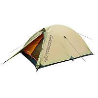 Палатка туристическая 3-местная Trimm Alfa (3100х150х110мм), песочная, фото 1