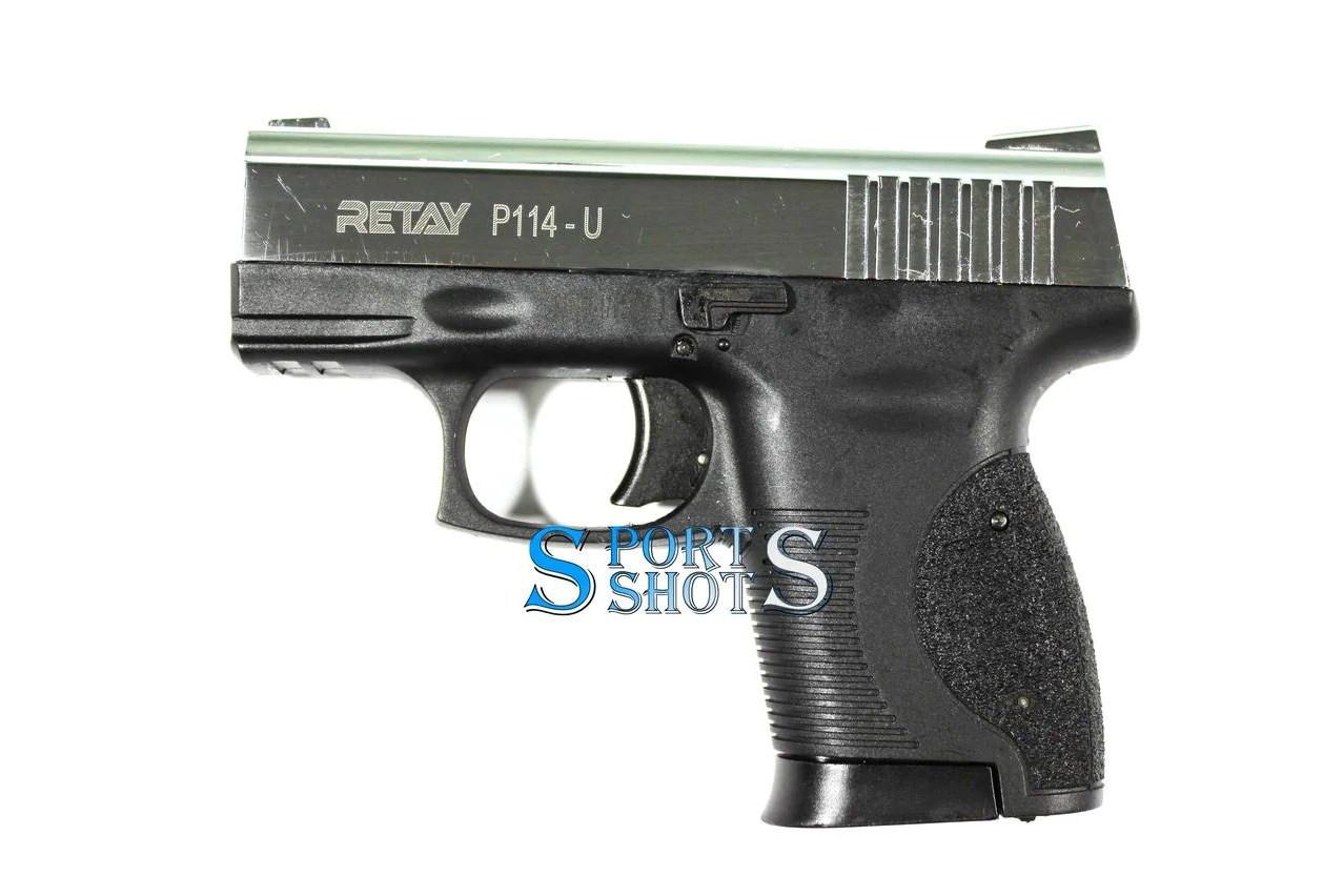 Стартовий пістолет Retay P114 Nickel