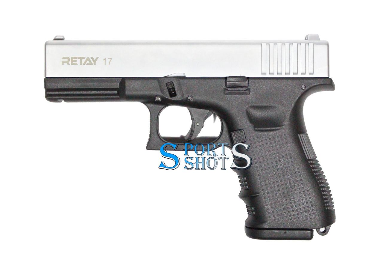 Стартовий пістолет Retay G 17 chrome