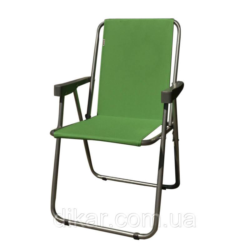 Кресло складное туристическое Восток Отдых (Фидель) (750x440мм), зеленое