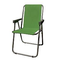 Кресло складное туристическое Восток Отдых (Фидель) (750x440мм), зеленое, фото 1