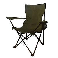 Кресло складное туристическое Восток Рыбак (92x53мм), хаки, чехол