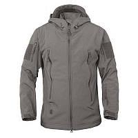 Куртка Soft Shell (р.XXXL) серая