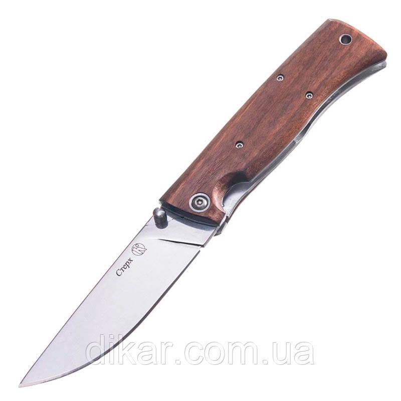 Нож складной Кизляр Стерх (длина: 234мм, лезвие: 104мм), дерево