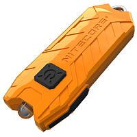 Фонарь наключный Nitecore TUBE v2.0 (1 LED, 55 люмен, 2 режима, USB), оранжевый