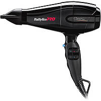 Фен для волос BaByliss PRO Caruso Ionic 2200-2400W с ионизацией (BAB6510IRE)
