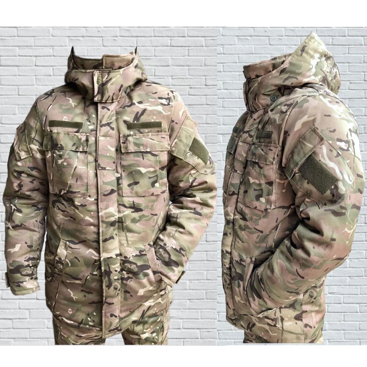 Бушлат зимний камуфляжный армейский Мультикам