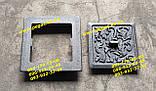 Дверцята сажотруска прочистная чавунна (130х130) печі, мангал, барбекю, грубу, фото 2
