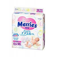 Merries Подгузники (0-5 кг) 90шт NB