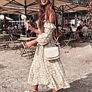 Женский юбочный костюм с длинной юбкой и топом с открытыми плечами 77ks1085, фото 4