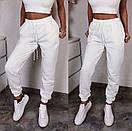 Спортивные женские штаны на резинке с манжетами 52bu506, фото 2