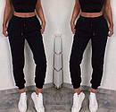 Спортивные женские штаны на резинке с манжетами 52bu506, фото 3