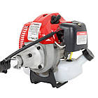Мотокоса 1.8 кВт/2.4 л. c., 51.7 см. куб 7000 об/хв, 40-зуб. диск з твердоспл. напайками, 3 ножа, котушка з, фото 6