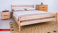 Кровать деревянная односпальная Ликерия 1,2 с изножьем, фото 1