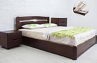 Кровать деревянная двуспальная Каролина 1,8 с подъемным механизмом
