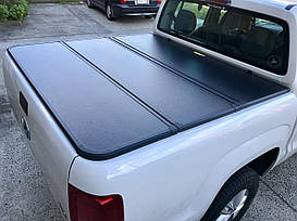 Трехсекционная алюминиевая крышка AR design VW Amarok  d/c 2010+