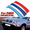 Накладка решетки радиатора BMW X5 E53 1999-2003 дорестайл М-стиль
