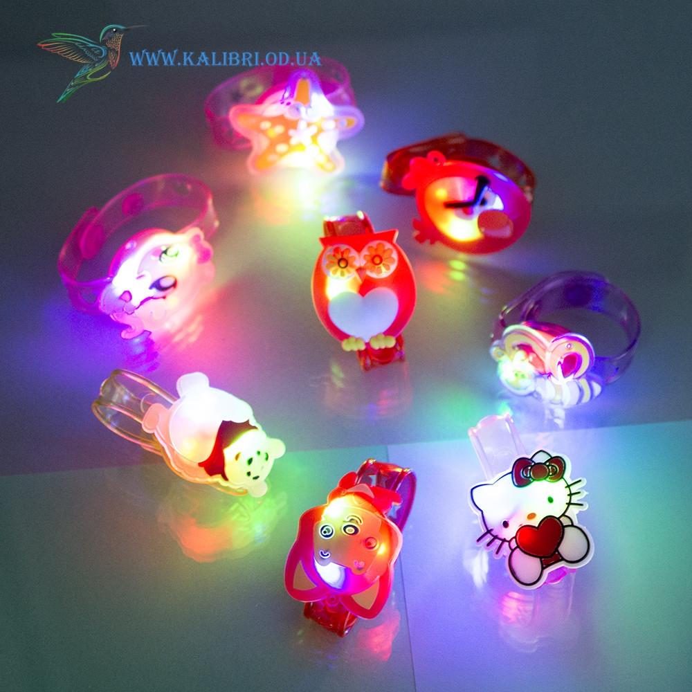 Дитячий світиться силіконовий браслет VT-800