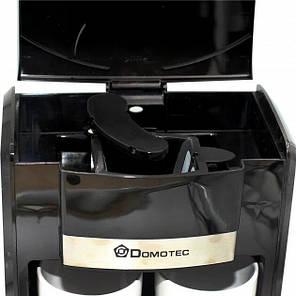 Кофеварка Domotec MS-0708 (500Вт) Черная, фото 2