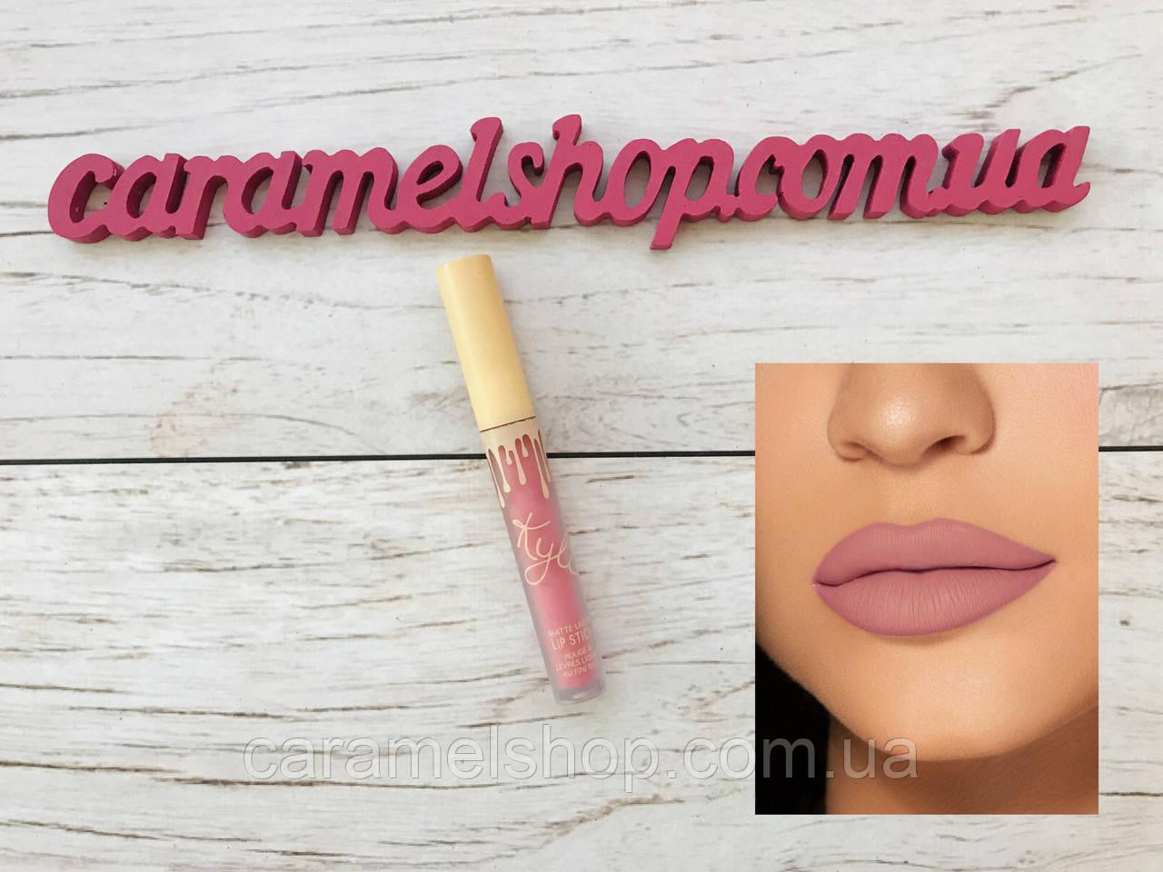 Жидкая матовая помада Kylie 8653 цвет Koko K   Matte Liquid Lipstick реплика