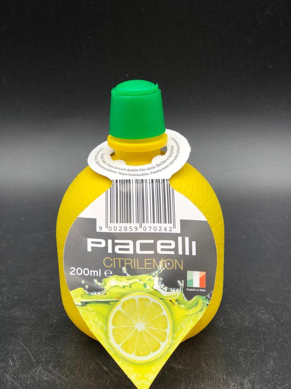 Концентрированный сок лимона Piacelli citrilemon 200 мл