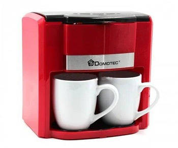 Кофеварка Domotec MS-0705 (500Вт) Красная