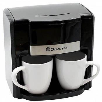 Кофеварка Domotec MS-0708 (500Вт) Черная