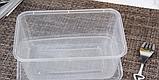 Контейнер для їжі з кришкою 1500 мл, фото 5