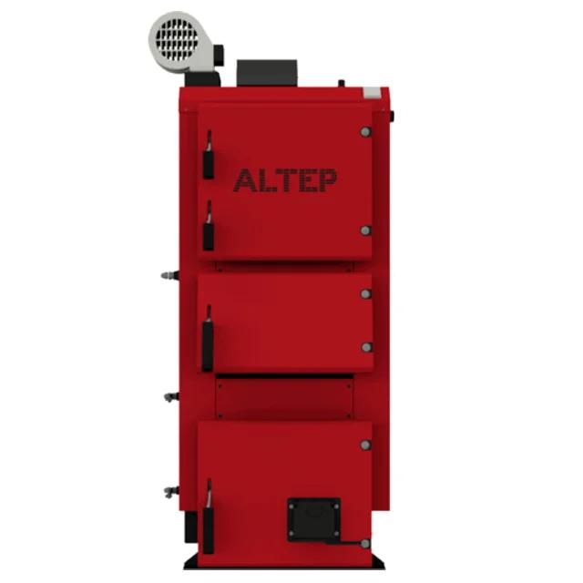 Котел длительного горения ALtep Duo Plus 75 кВт полностью автоматизирован с европейской автоматикой