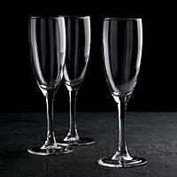 """Набор бокалов для шампанского 170 мл """"Эдем"""", 6 шт"""