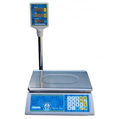 Весы торговые Вагар VP-L LCD (30 кг), фото 2