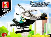 Конструктор Sluban Police Вертолет 68 деталей М38-В600