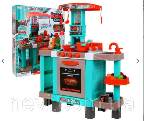 Игровой набор кухня, детская кухня 008-938A бирюзовая