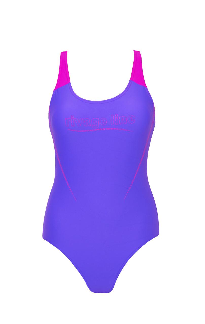 Купальник спортивный подростковый для плавания Rivage line 2149 Фиолетовый