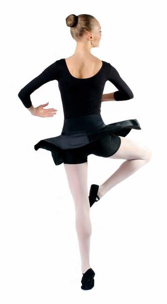 Юбка женская с шортами Rivage Line 80005, черная