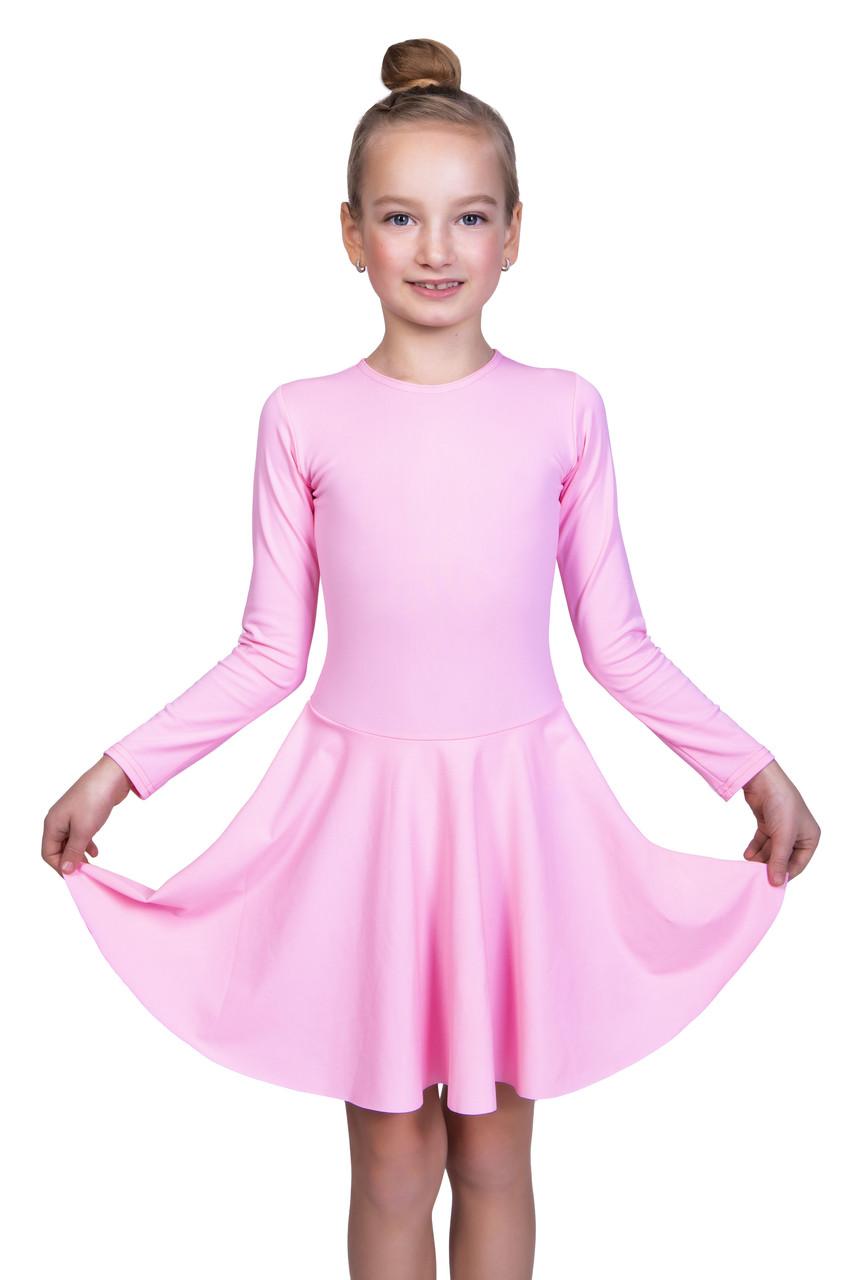 Бейсик для бальных танцев Dance&Sport  N 97  бифлекс Розовый